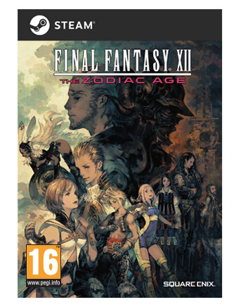 FINAL FANTASY XII The Zodiac Age for Steam