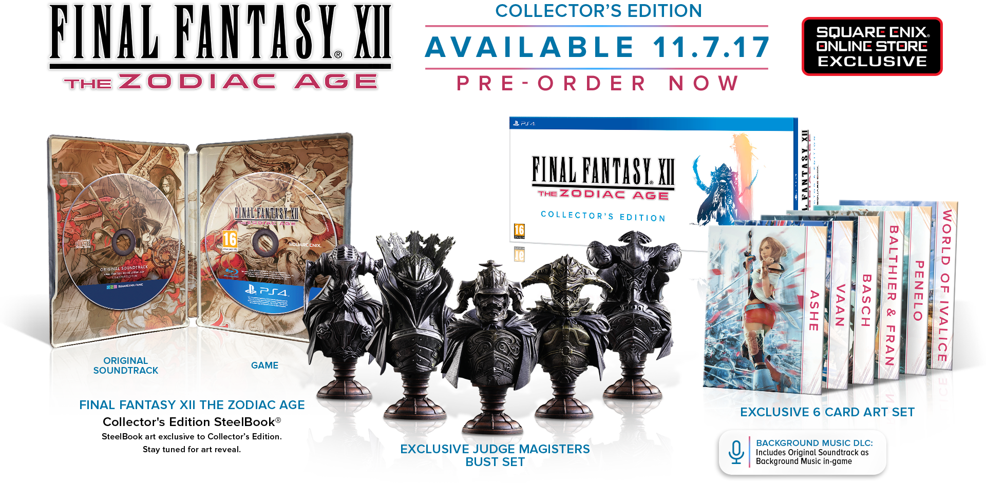 FINAL FANTASY XII The Zodiac Age Collector's Edition