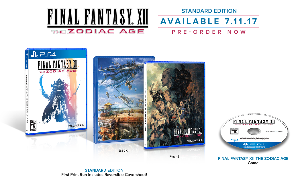 FINAL FANTASY XII The Zodiac Age Standard Edition
