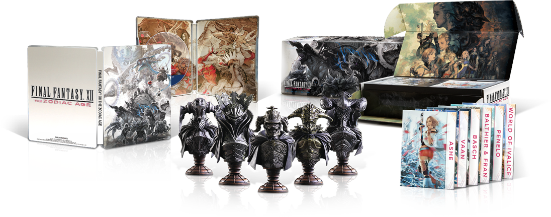 FINAL FANTASY XII The Zodiac Age PC Collector's Edition